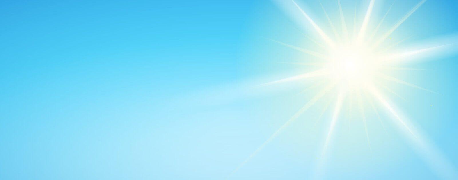 Wer direkt in die Sonne zu schaut, schadet seinen Augen nachhaltig.