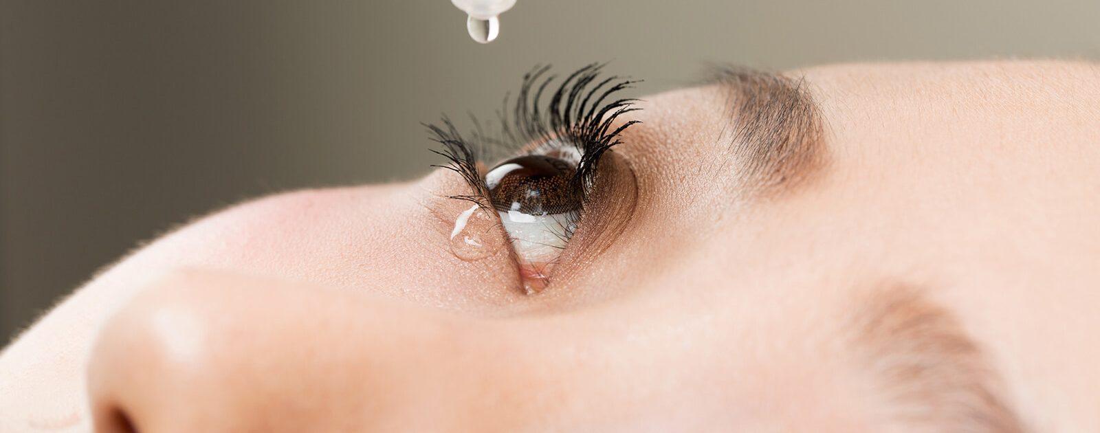 Augentropfen mit Cortison lindern Entzündungen am Auge