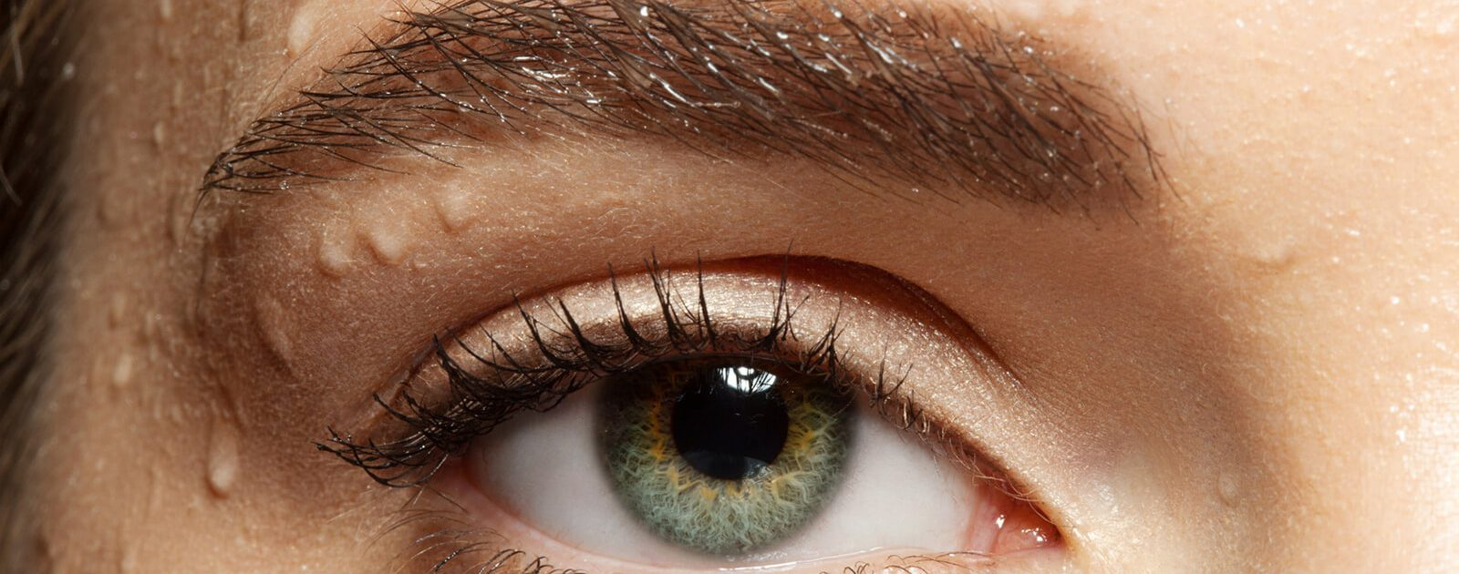 Trockene Augen (Sicca-Syndrom): Auge in Nahaufnahme.